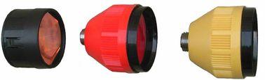 04S/04T sola capa de la plata de la prisma de 2,5 pulgadas o fuera y tipo sola capa de 04L Leica del cobre de la prisma o fuera