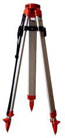 Trípode de aluminio de poca potencia de M2N/M2N-QR con las piernas redondas para el NIVEL AUTO